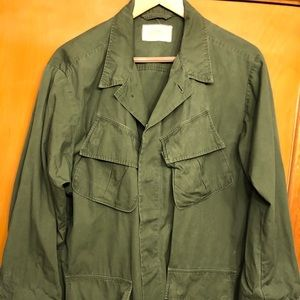 Other - Vintage Vietnam Era Tropical Field Jacket